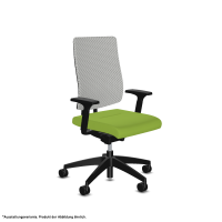 Bürostuhl black dot air (3D Strick) |