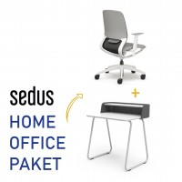 Sedus Homeooffice Paket: Drehstuhl Se:Motion + Secretair home |