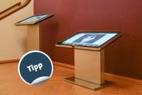 Barrierefreies Touch-Infoterminal |